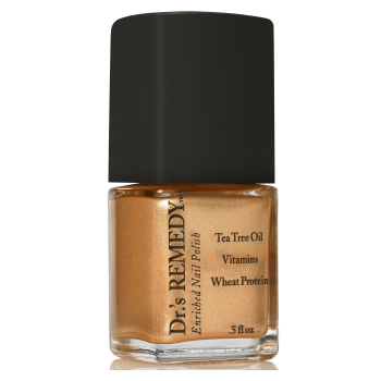 Dr.'s Remedy Enriched Nail Lacquer Glee Gold (15mL)