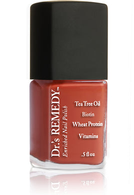 Dr.'s Remedy Enriched Nail Lacquer Altruistic Auburn (15mL)
