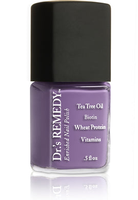 Dr.'s Remedy Enriched Nail Lacquer Amity Amethyst (15mL)