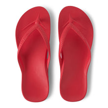 Load image into Gallery viewer, Archies Arch Support Thongs (Coral)