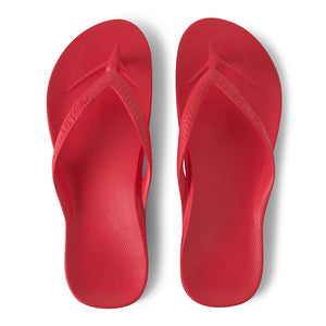 Archies Arch Support Thongs (Coral)