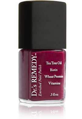 Dr.'s Remedy Enriched Nail Lacquer Balance Brick Red (15mL)