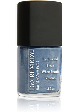 Dr.'s Remedy Enriched Nail Lacquer Bountiful Blue (15mL)