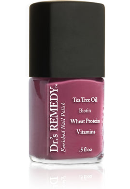 Dr.'s Remedy Enriched Nail Lacquer Brave Berry (15mL)