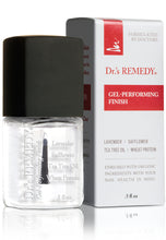 Load image into Gallery viewer, Dr.'s Remedy Calming Clear Gel - Performing Finish (15mL)