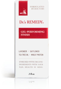 Dr.'s Remedy Calming Clear Gel - Performing Finish (15mL)