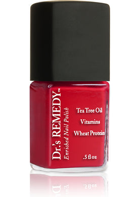 Dr.'s Remedy Enriched Nail Lacquer Clarity Coral (15mL)