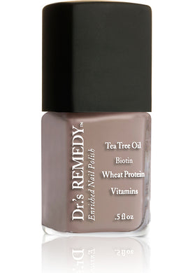 Dr.'s Remedy Enriched Nail Lacquer Cozy Café (15mL)