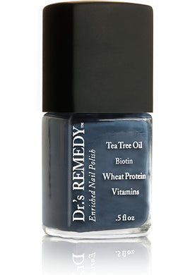 Dr.'s Remedy Enriched Nail Lacquer Devoted Denim (15mL)