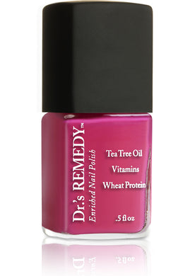 Dr.'s Remedy Enriched Nail Lacquer Hopeful Hot Pink (15mL)