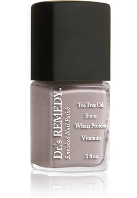 Dr.'s Remedy Enriched Nail Lacquer Kinetic Khaki (15mL)