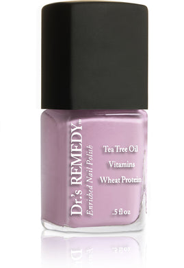 Dr.'s Remedy Enriched Nail Lacquer Loveable Lavender (15mL)