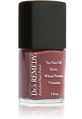 Dr.'s Remedy Enriched Nail Lacquer Mellow Mauve (15mL)