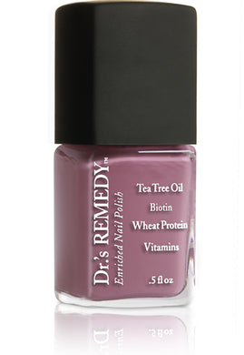 Dr.'s Remedy Enriched Nail Lacquer Mindful Mulberry (15mL)