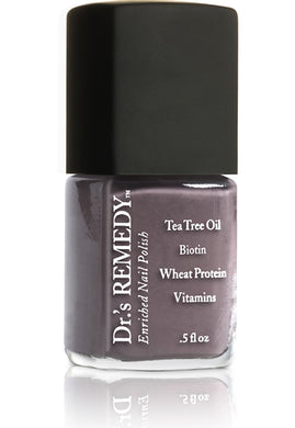 Dr.'s Remedy Enriched Nail Lacquer Motivating Mink (15mL)