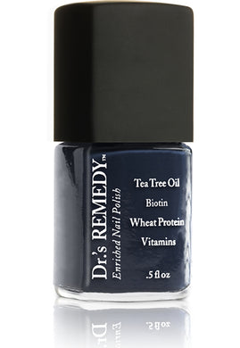 Dr.'s Remedy Enriched Nail Lacquer Noble Navy (15mL)
