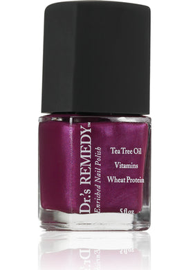 Dr.'s Remedy Enriched Nail Lacquer Passion Purple (15mL)