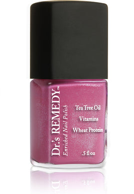 Dr.'s Remedy Enriched Nail Lacquer Playful Pink (15mL)