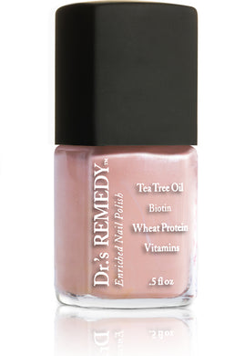 Dr.'s Remedy Enriched Nail Lacquer Pleasing Peach (15mL)