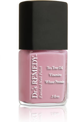 Dr.'s Remedy Enriched Nail Lacquer Positive Pastel Pink (15mL)