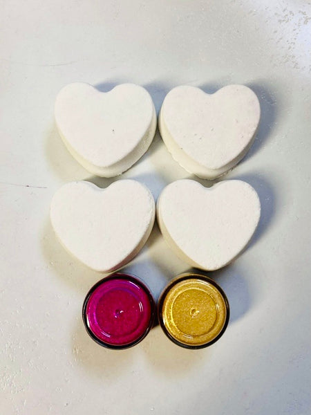 Paint-Your-Own Valentine Bubble Truffle Kit