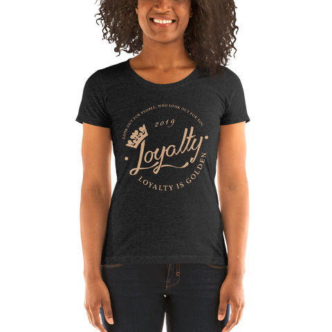 Ladies' short sleeve t-shirt