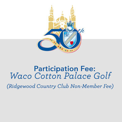 Waco Cotton Palace Golf: Ridgewood Country Club Non-Member Fee
