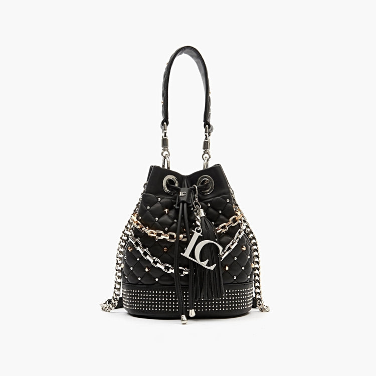 La Carrie Bag Borsa Chein Bucket Pu