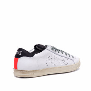 P448 Sneaker John White Orange