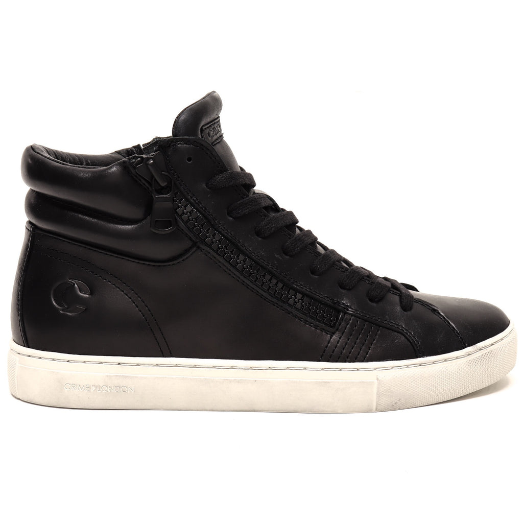 Crime London Sneaker Alta Double Zip