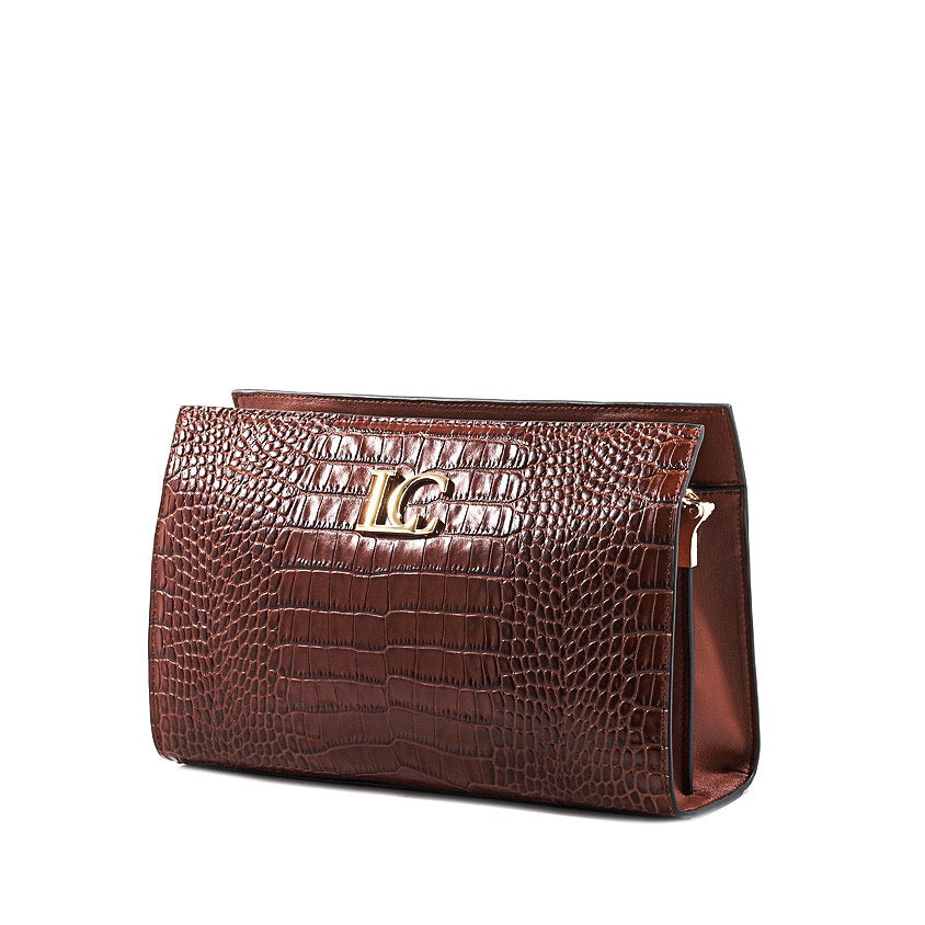 La Carrie Bag Clutch Ophelia Continental Cocco