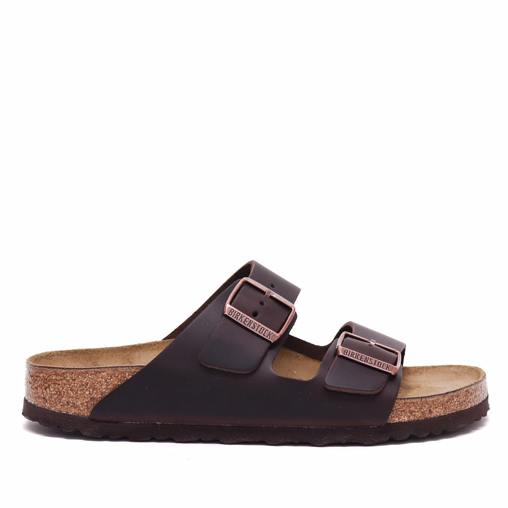 Birkenstock Ciabatta Arizona Habana Oiled Narrow Fit M