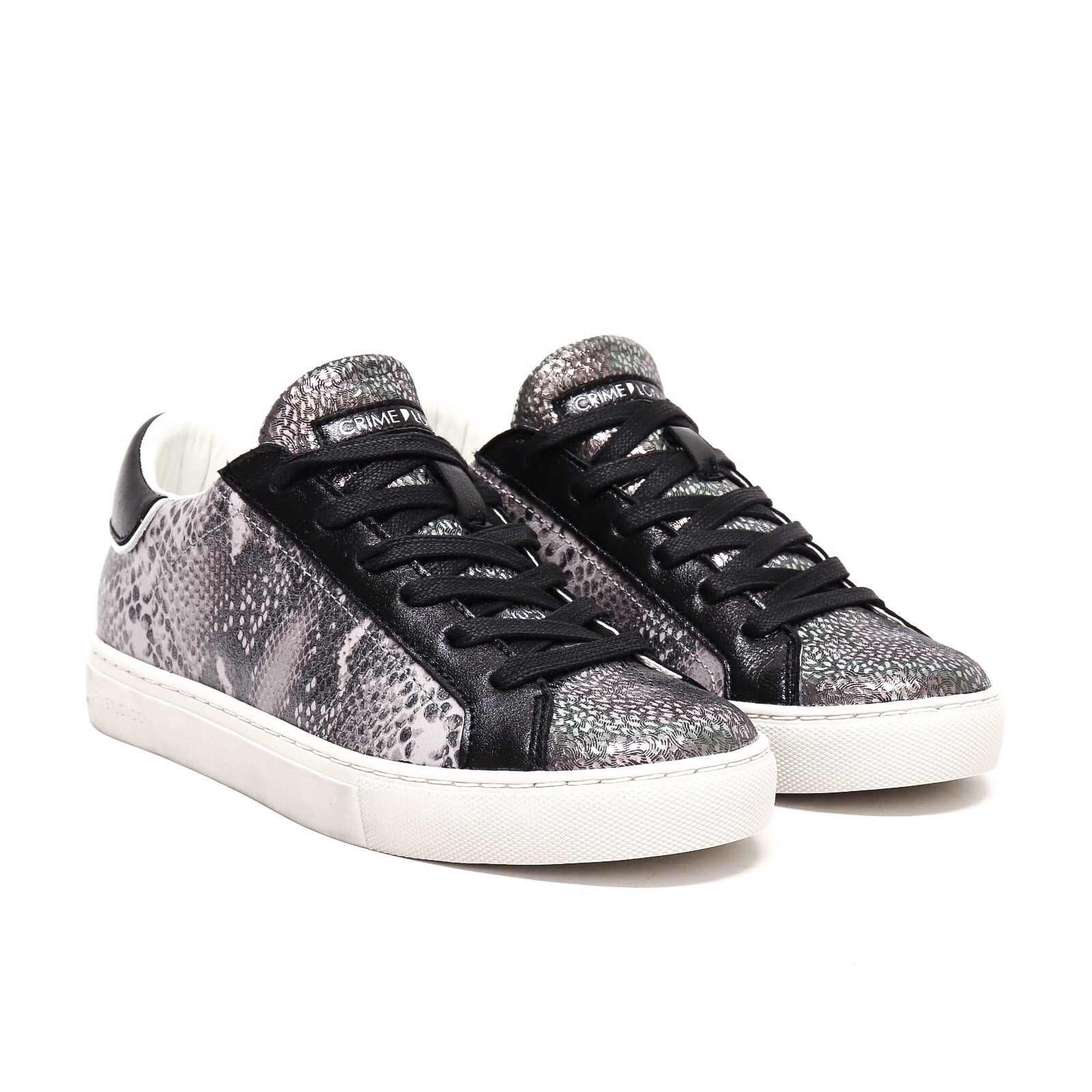 Crime London Sneaker Low Top Essential
