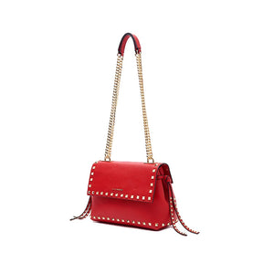 La Carrie Bag Studs Izabel Handle Bag Bott. Pelle