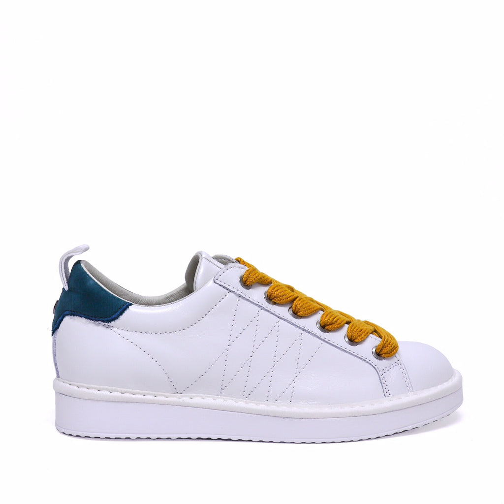 Panchic Sneaker White BrightGreen M