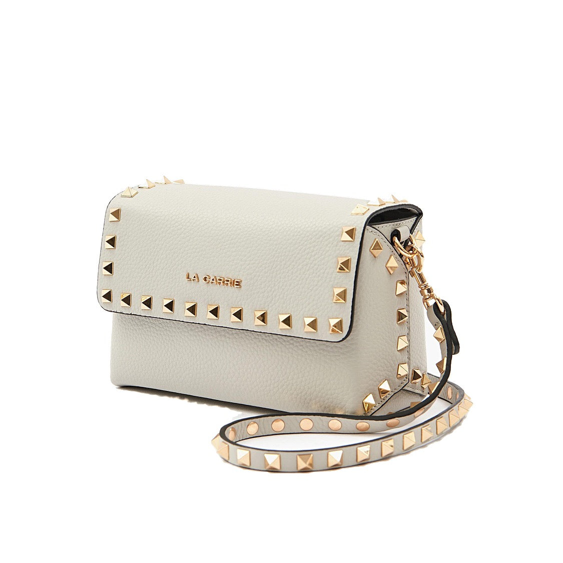 La Carrie Bag Studs Lucy Sm Shoulder Pelle