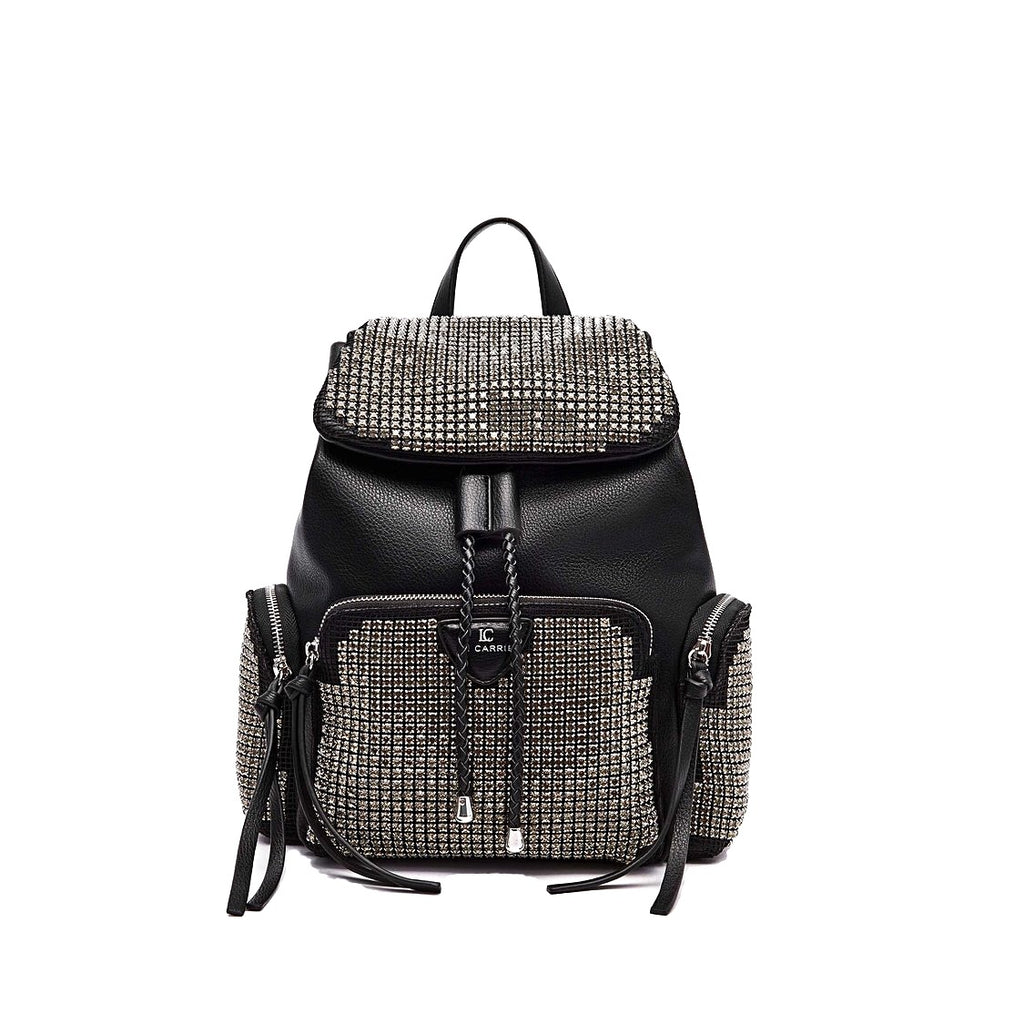 La Carrie Bag aZaino Wire St. Backpack Syntetic Tumbled