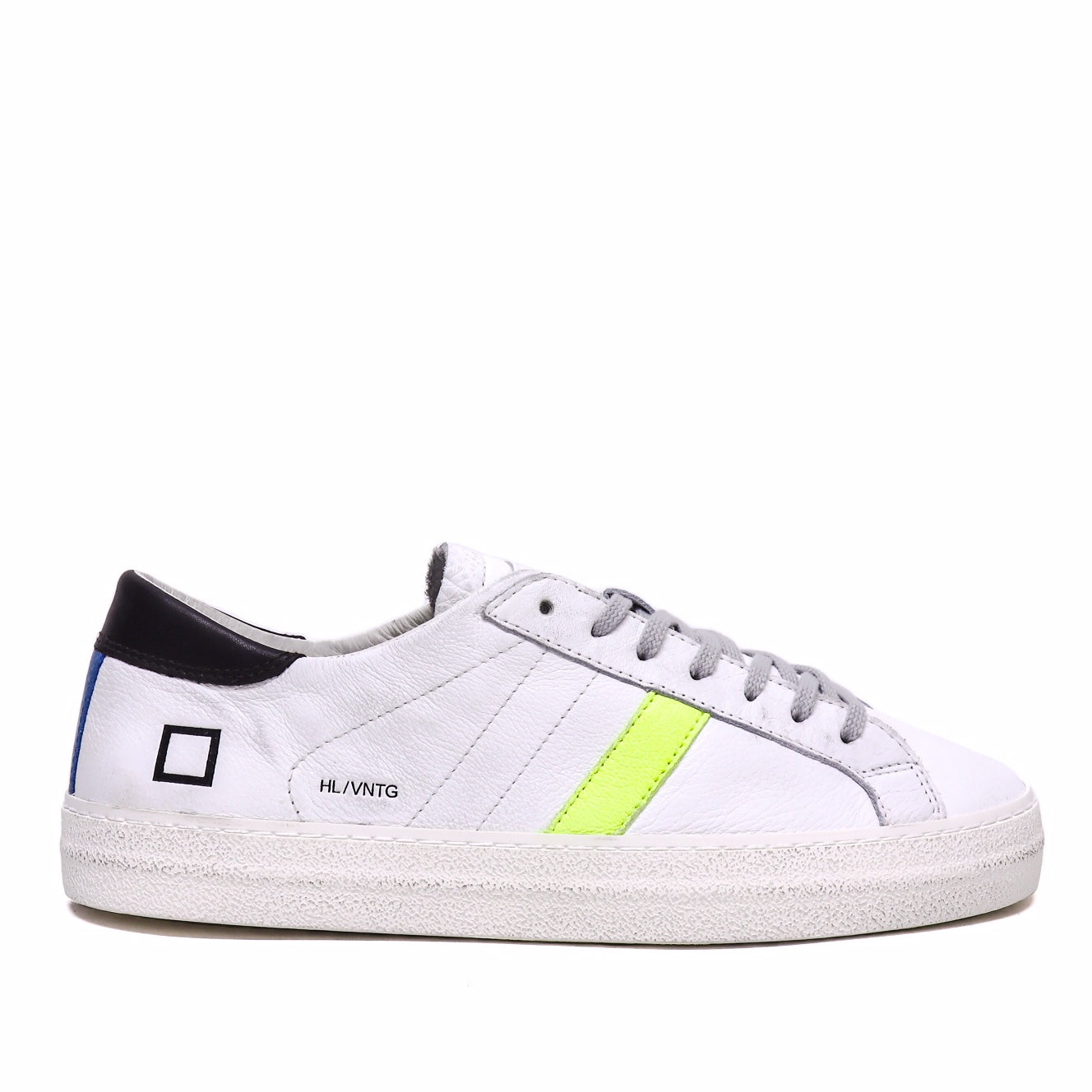 D.a.t.e Sneaker Hill Low Vintage White Yellow Date M