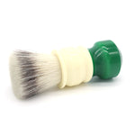 24mm FlatTop Synthetic w/ Ivory+Green Signature Series Handle