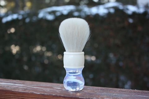 "24mm Cashmere w/ Winter ""White Wizard"" Handle"