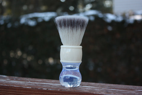 24mm FlatTop - w/ Winter Handle - Extra Dense Shaving Brush