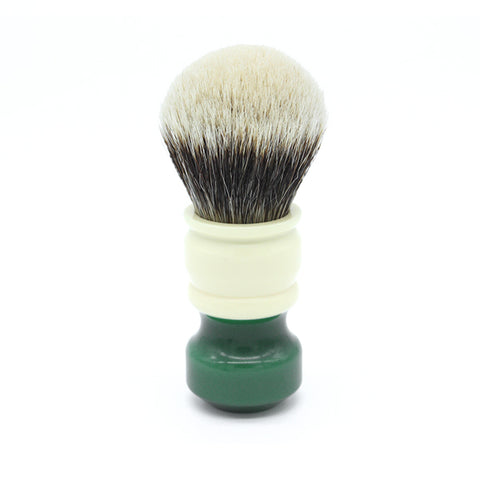 26mm Gelousy SHD Bulb w/ Ivory+Green Signature Series Handle
