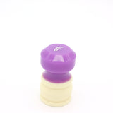 Ivory Purple Shaving Brush Handle (fits 26mm, 28mm knots)
