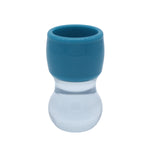 Blue & Clear Shaving Brush Handle (fits 28mm, 30mm knots)
