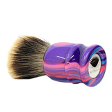 28mm Gelousy SHD Fan Brush (Leo Frilot x AP Shave Co.)