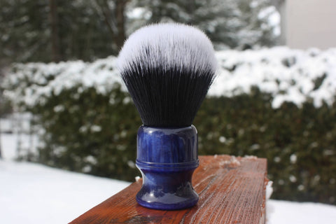 24mm Tuxedo w/ Blue Lagoon Handle