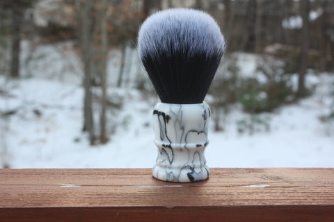 24mm Tuxedo w/ Faux Marble Handle v2