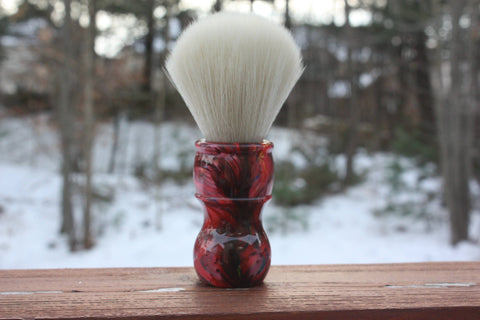 24mm Cashmere w/ Ruby Ripple Handle