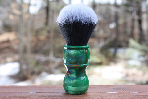 24mm Tuxedo w/ Elegant Emerald Handle Handle