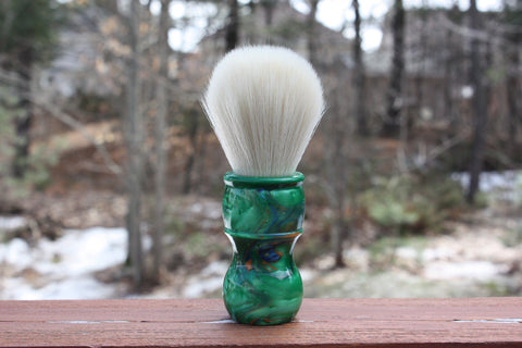 24mm Cashmere w/ Elegant Emerald Handle